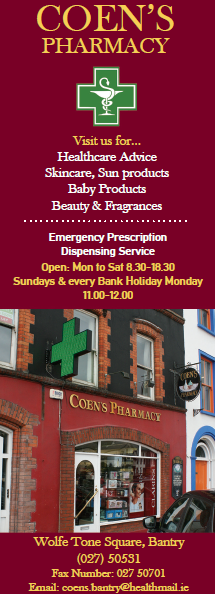 Coen's Pharmacy Bantry