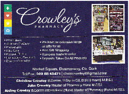 Crowley's Pharmacy Drimoleague