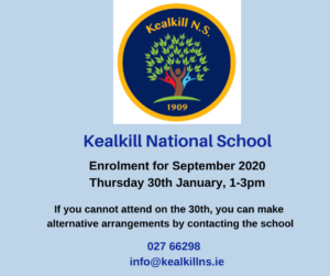 Kealkill National School Enrolment